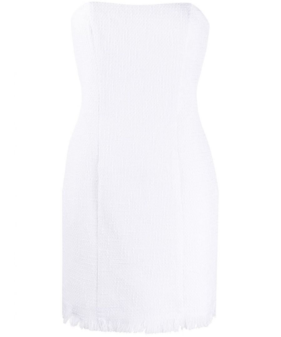 Image for FEDERICA TOSI WOMEN'S FTE20AB0130TE0060001 WHITE COTTON DRESS