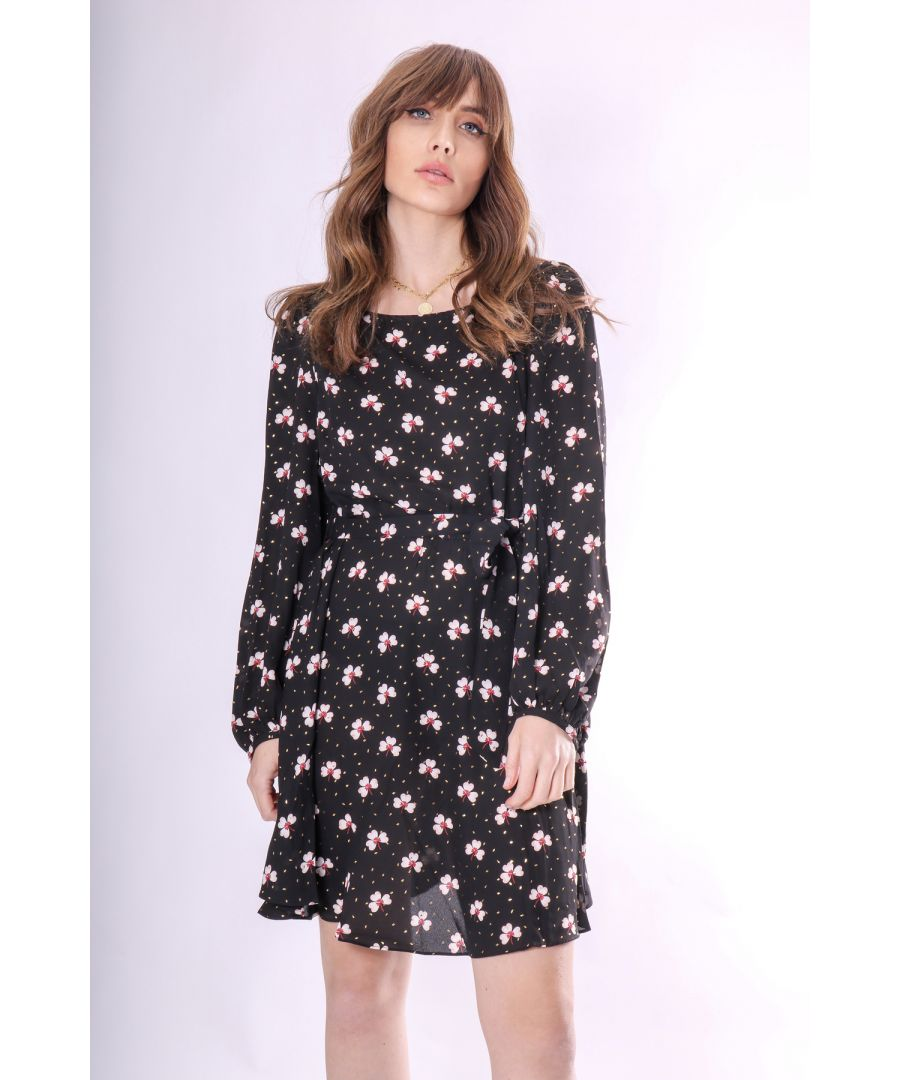 Image for Mini Printed Lily Dress in Floral Print