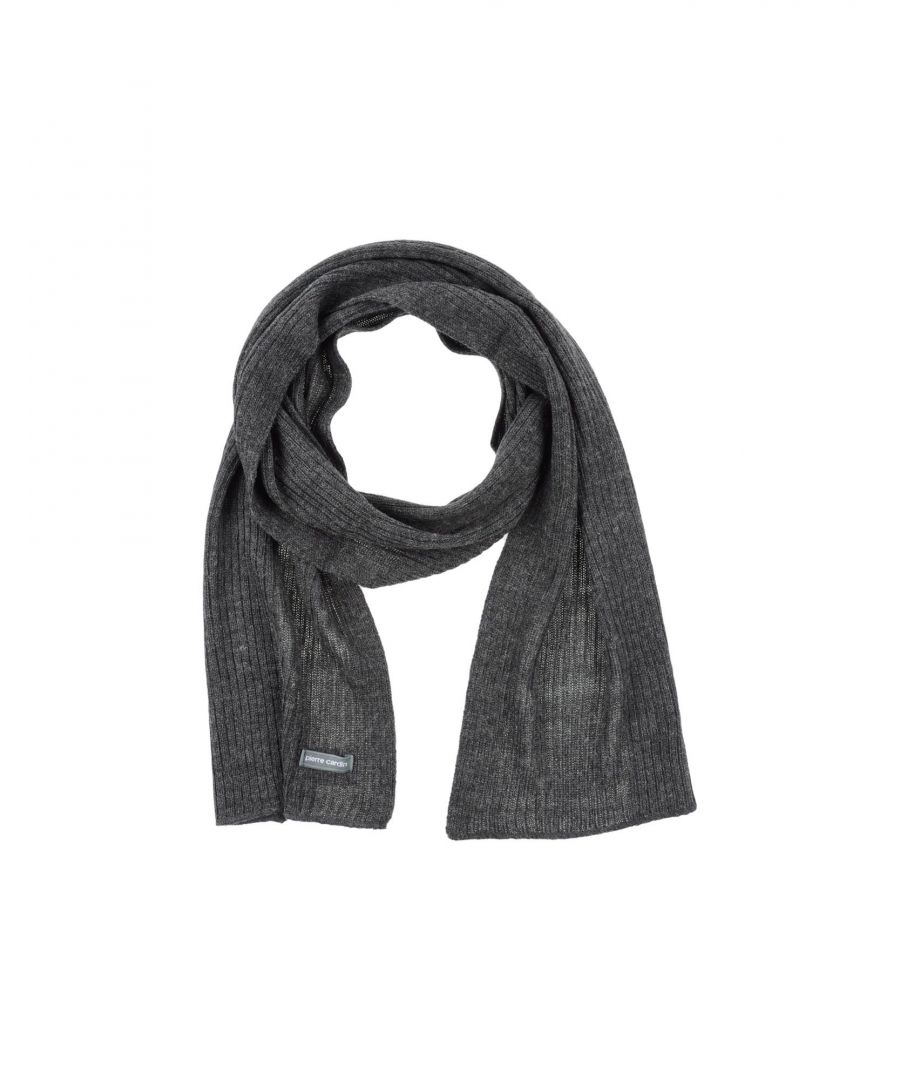 Image for Pierre Cardin Grey Knit Scarf