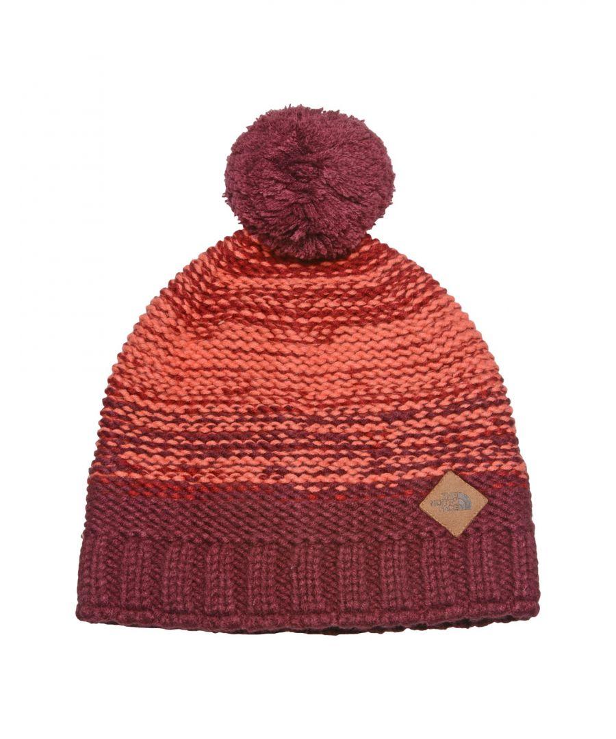 Image for Deep purple acrylic hat