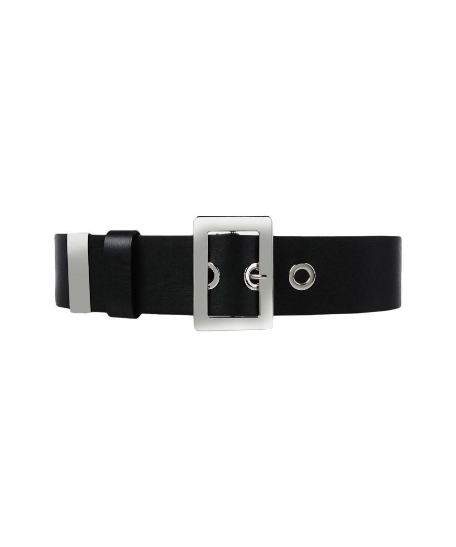 Image for Jil Sander Black Calf Leather Belt