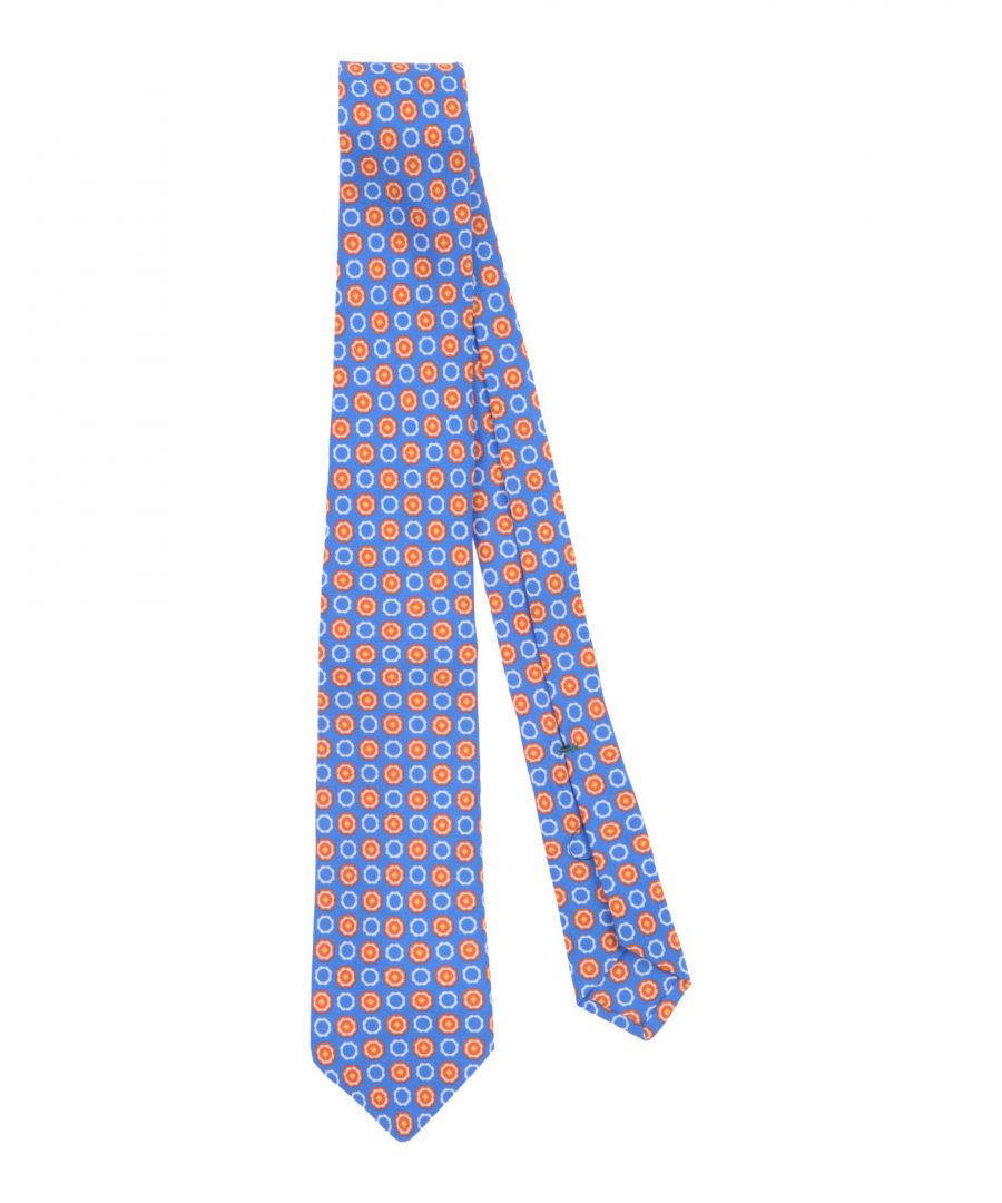 Image for ACCESSORIES Man Luigi Borrelli Napoli Blue Silk