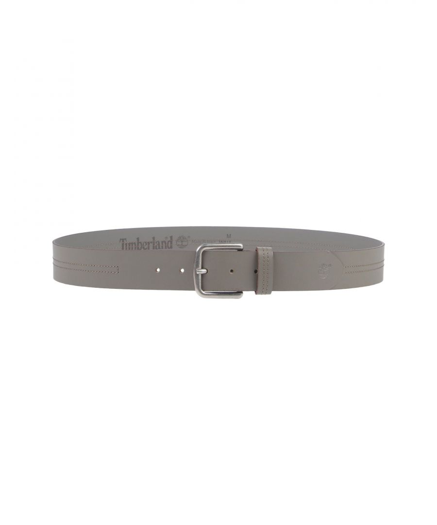 Image for Timberland Grey Leather Belt