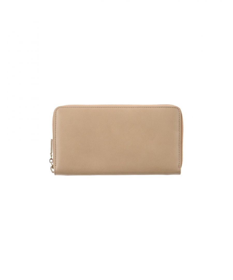 Image for Gianni Versace Beige Leather Wallet