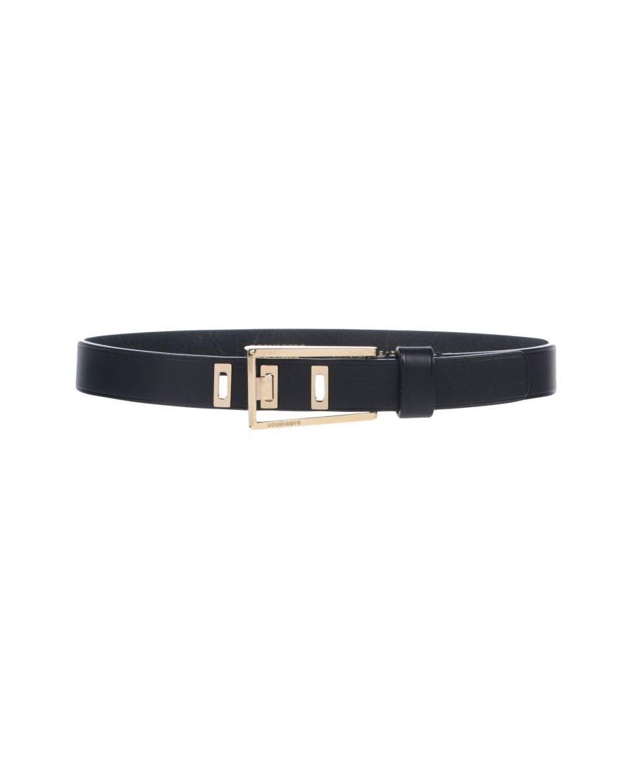 Image for Dsquared2 Black Leather Belt