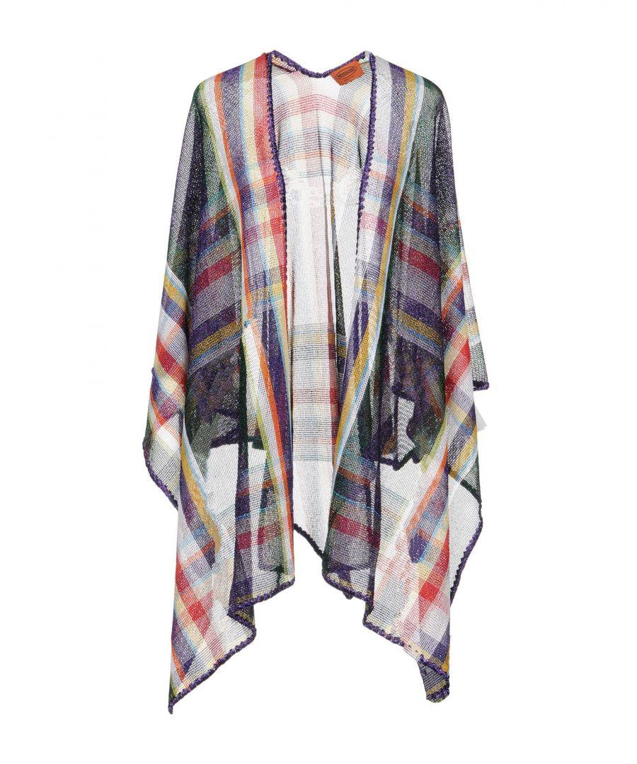 Image for Missoni Dark Purple Knit Wrap