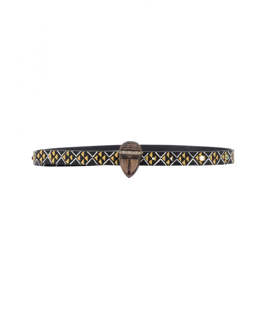 Image for Valentino Garavani Black Leather Belt