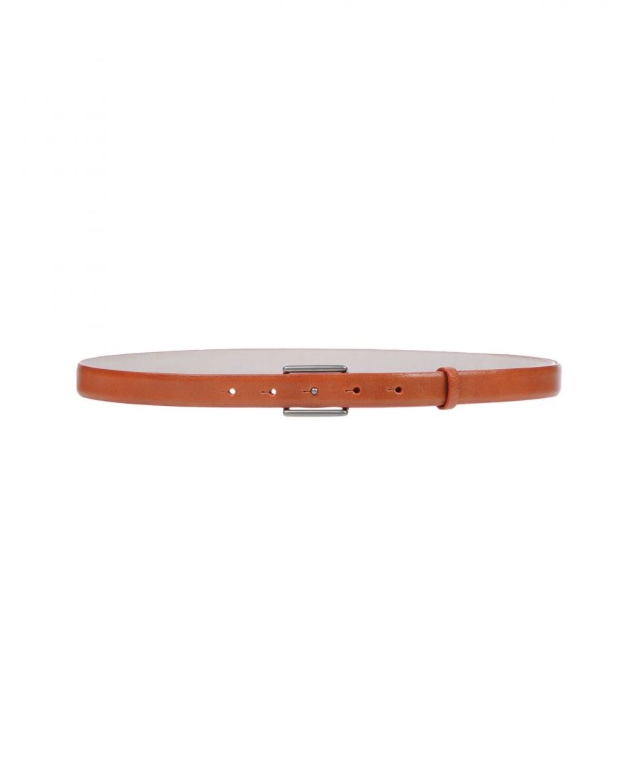 Image for Brunello Cucinelli Brick Red Leather Belt