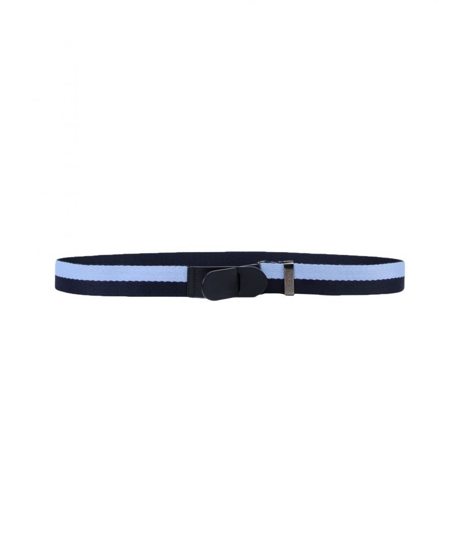 Image for Tod's Dark Blue Two Tone Belt