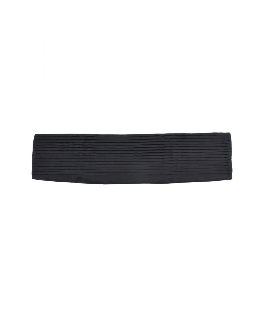 Image for Prada Black Silk Belt