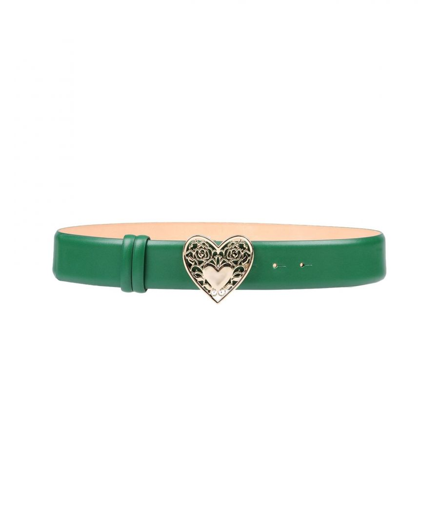 Image for Elie Saab Green Leather Belt