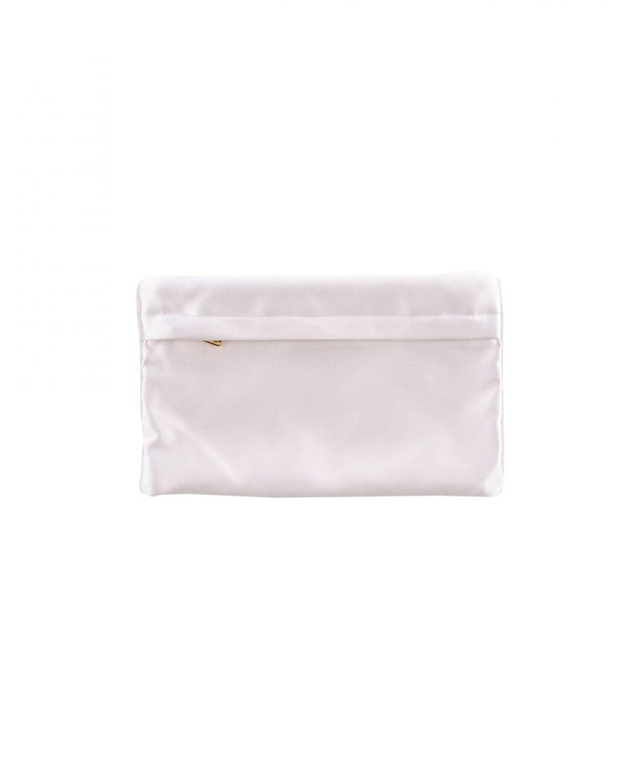 Image for Prada Light Pink Satin Pouch