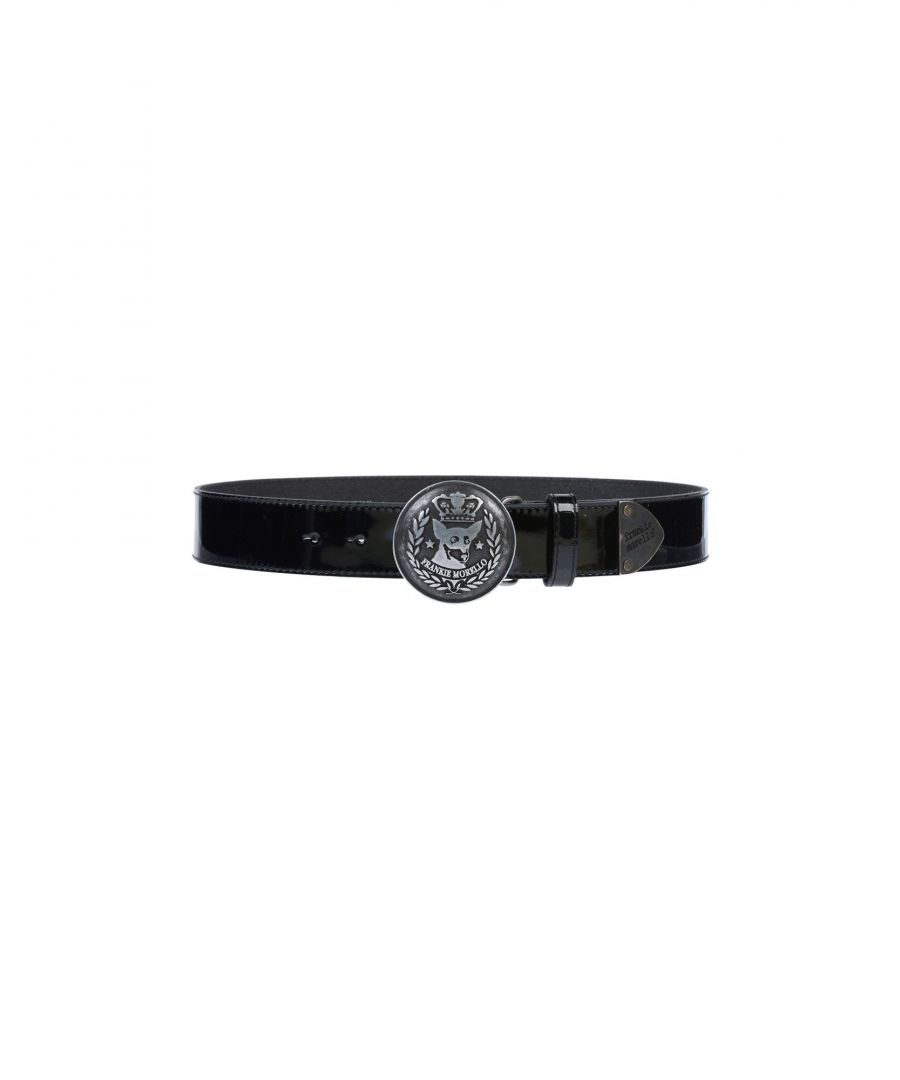Image for Frankie Morello Black Leather Belt