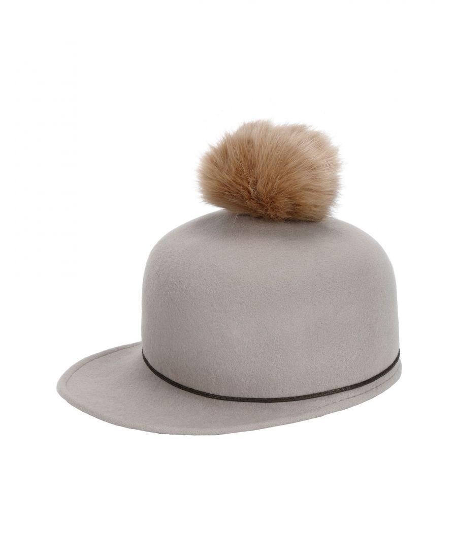 Image for Helene Berman London Woman Hats Dove grey, Grey Wool