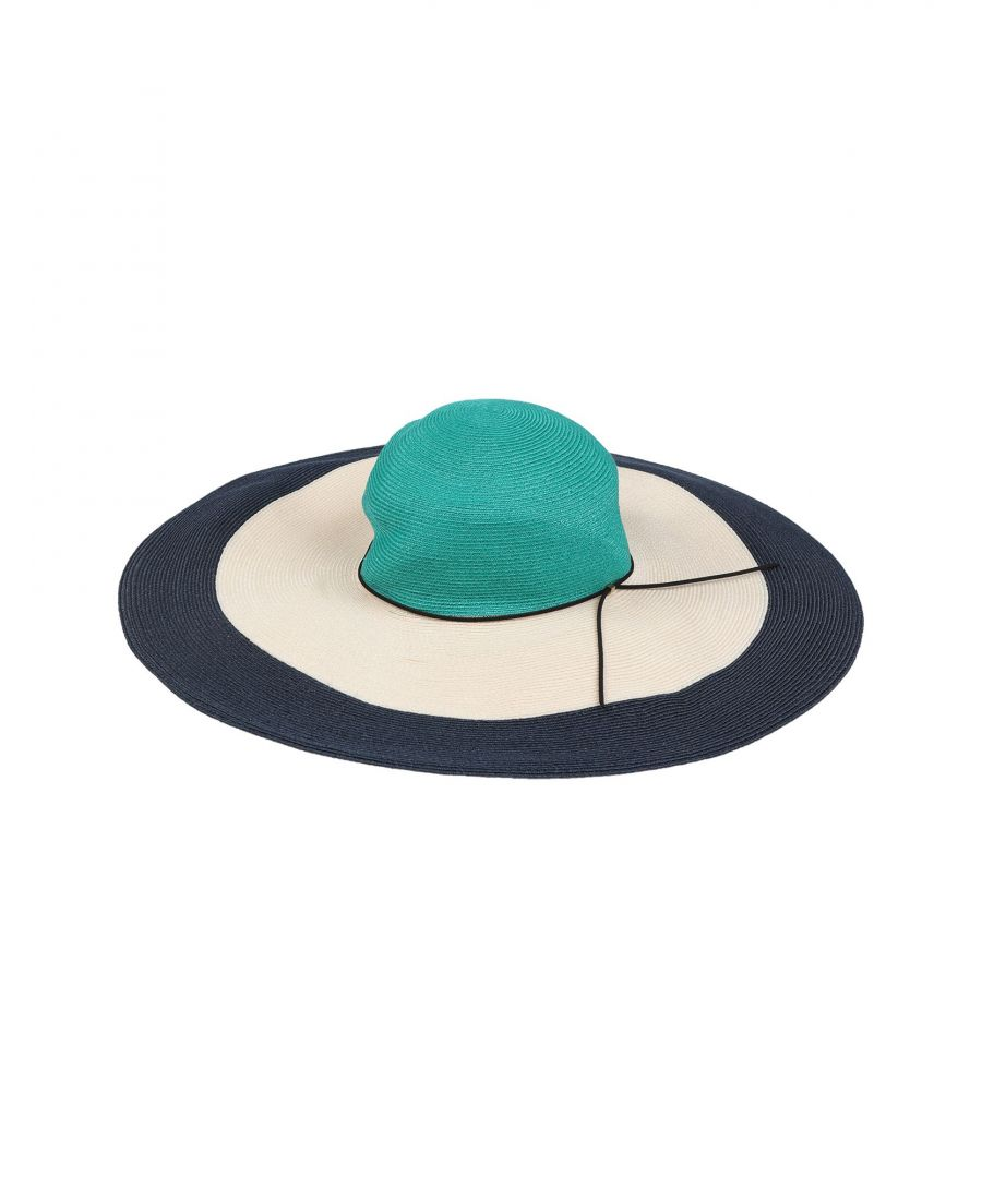 Image for Eugenia Kim Turquoise Wide Brim Hat