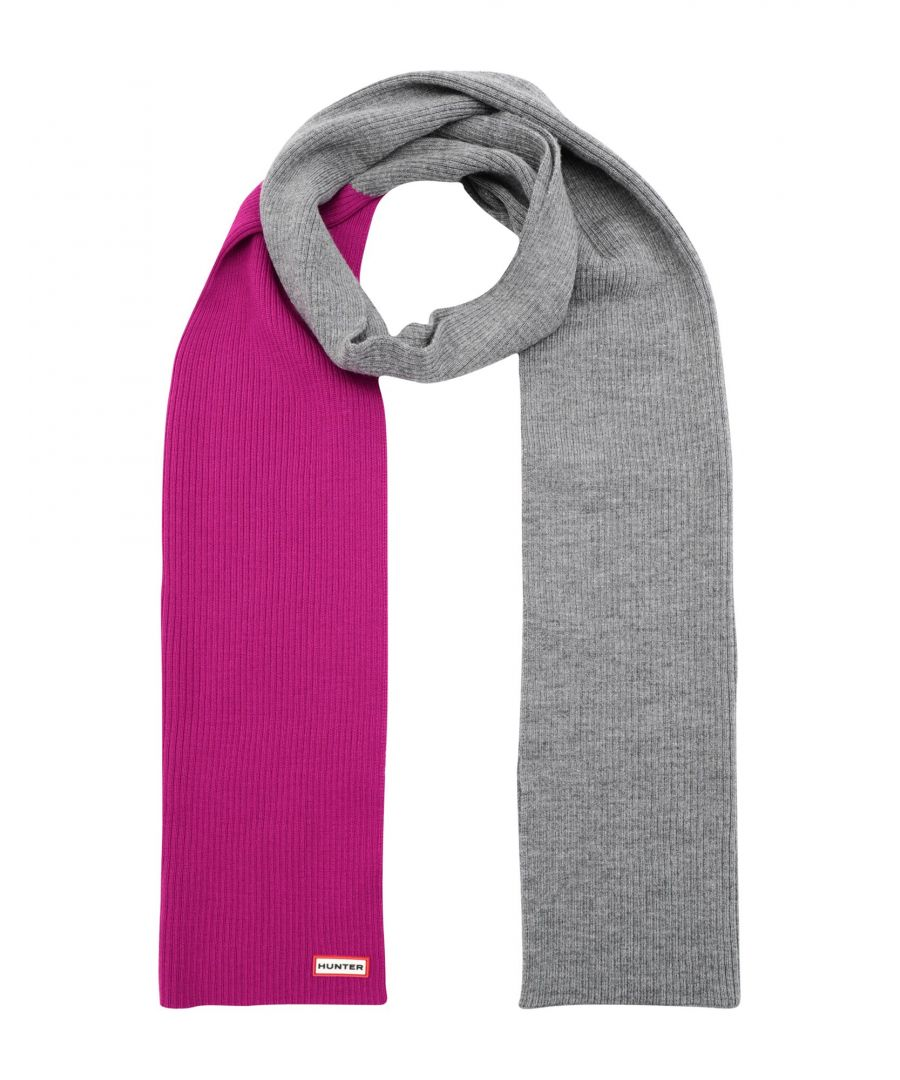 Image for ACCESSORIES Woman Hunter Fuchsia Merinos Wool
