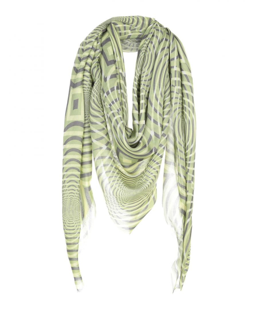 Image for Christopher Kane Light Green Modal Scarf