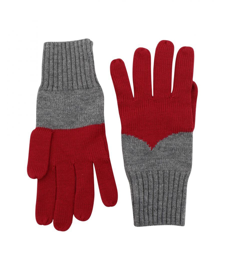 Image for ACCESSORIES Woman Hunter Red Merinos Wool