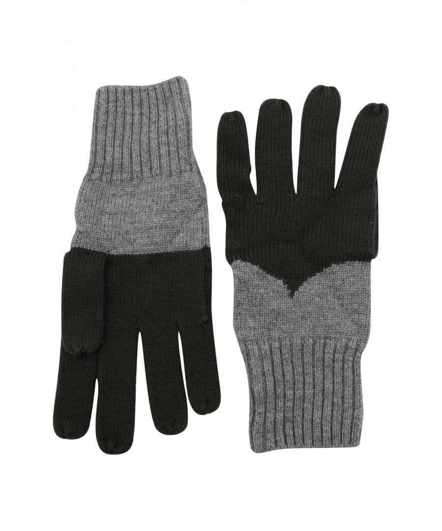 Image for Hunter Military Green Merino Wool Knit Gloves