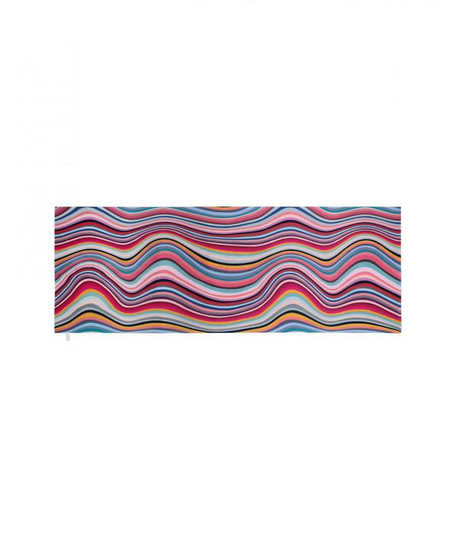 Image for Paul Smith Fuchsia Silk Pattern Scarf