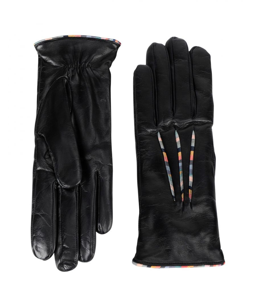Image for Paul Smith Black Lambskin Leather Gloves