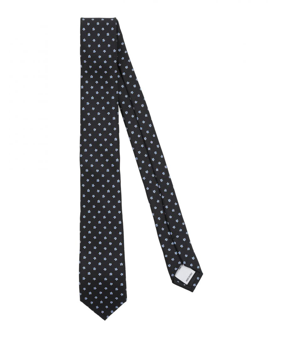 Image for Red(V) Black Pattern Silk Tie