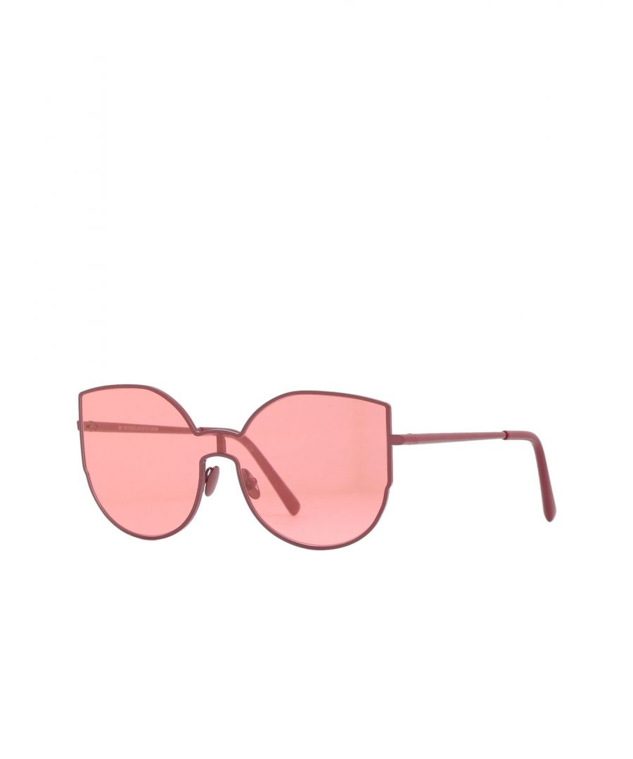 Image for Super By Retrosuperfuture Brick Red Tinted Sunglasses