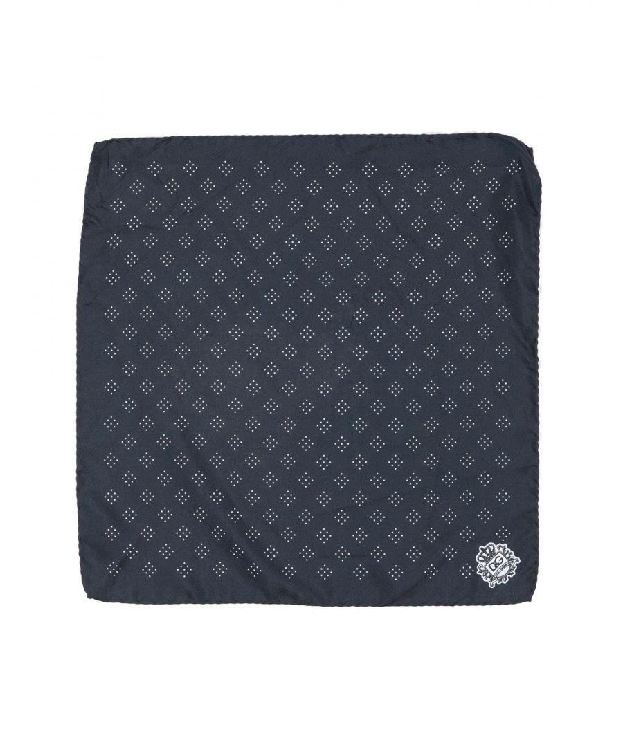 Image for Dolce & Gabbana Man Square scarves Dark blue Silk