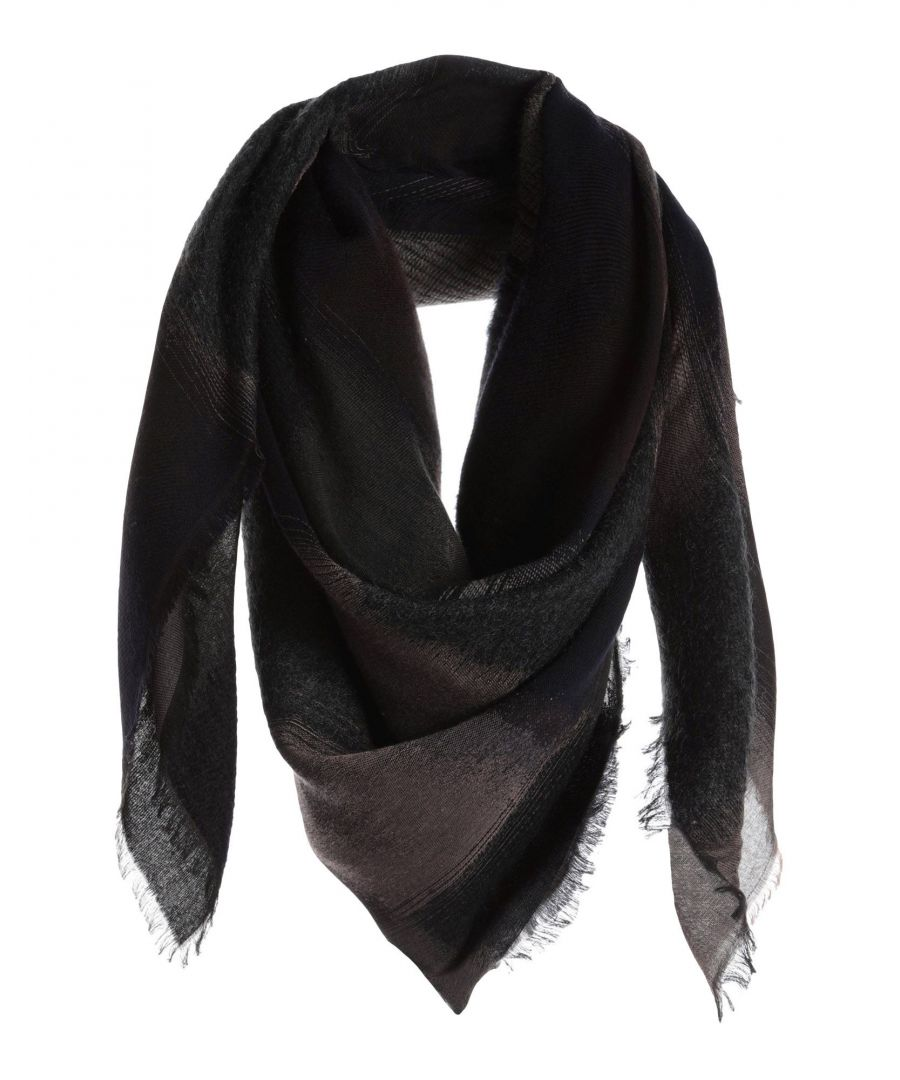Image for Paul Smith Black Fringe Scarf