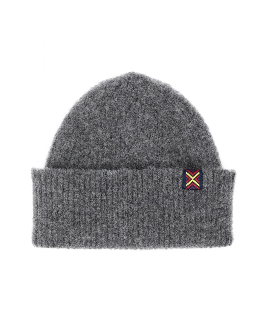 Image for Ps Paul Smith Angora Knit Beanie Hat