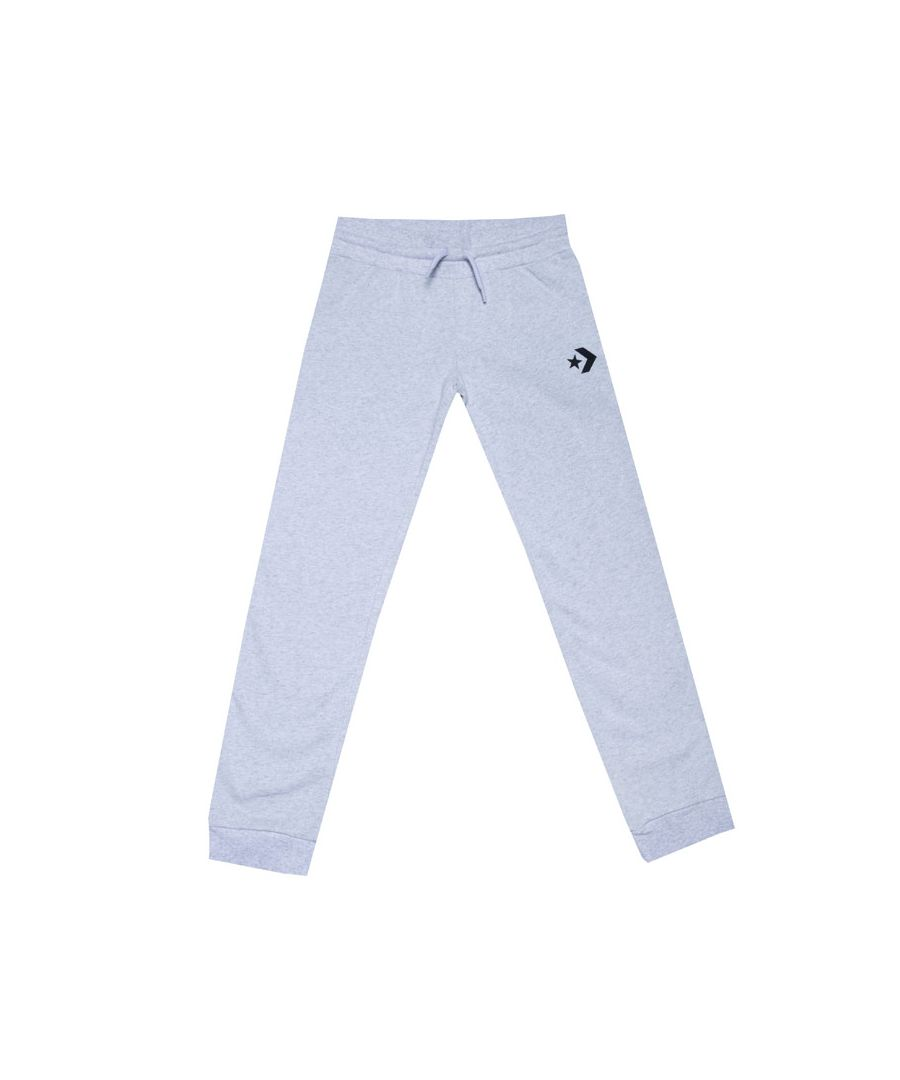 Image for Girl's Converse Junior Lurex Jogger in Grey