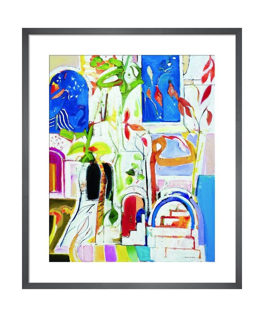 Image for Courtyard Gualchos by Derek Balmer Framed Art Print