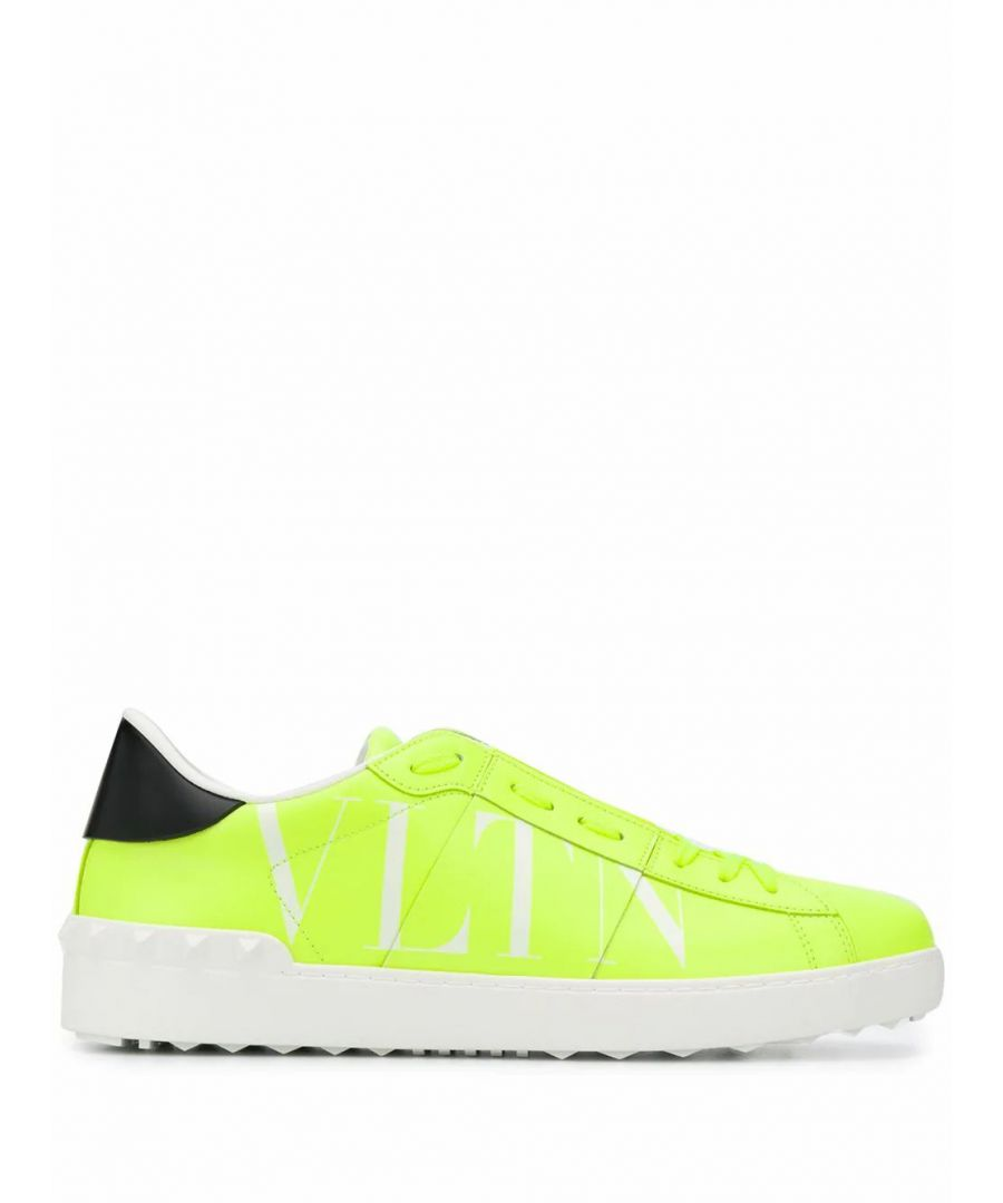 Image for VALENTINO GARAVANI MEN'S TY0S0830HWG33M YELLOW LEATHER SNEAKERS