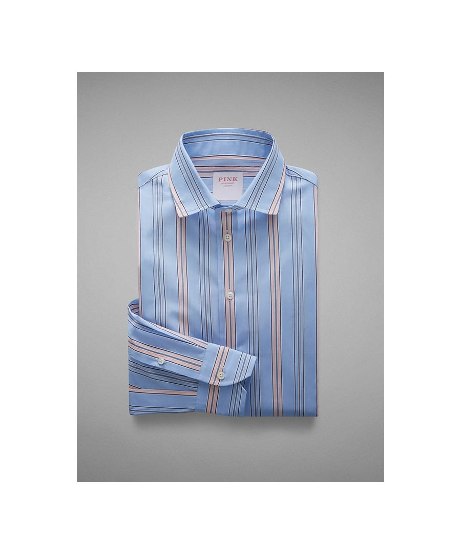 Image for Vintage Fine Stripe Women Shirt