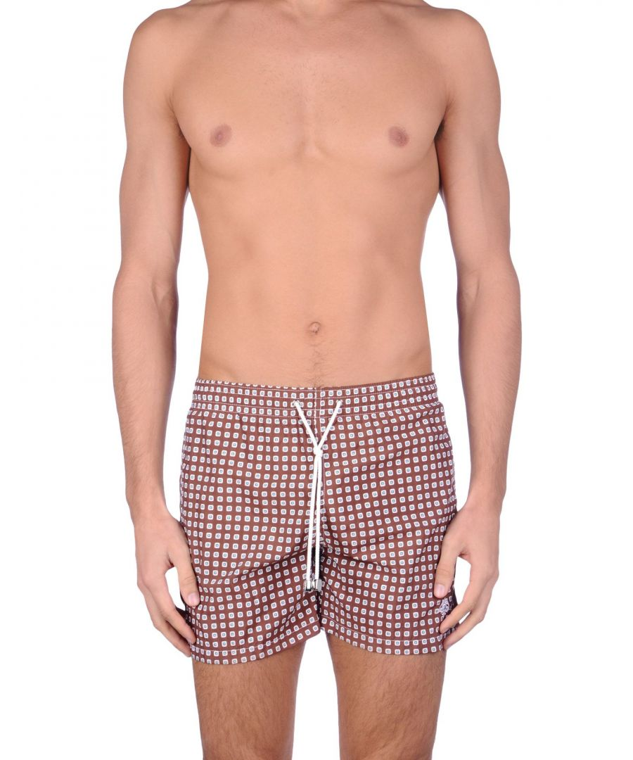 Image for Luigi Borrelli Napoli Cocoa Swim Shorts