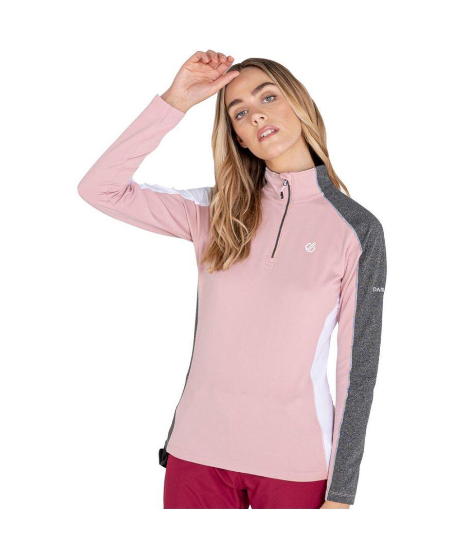 Image for Dare 2b Womens Default II Core Stretch Quarter Zip Coat