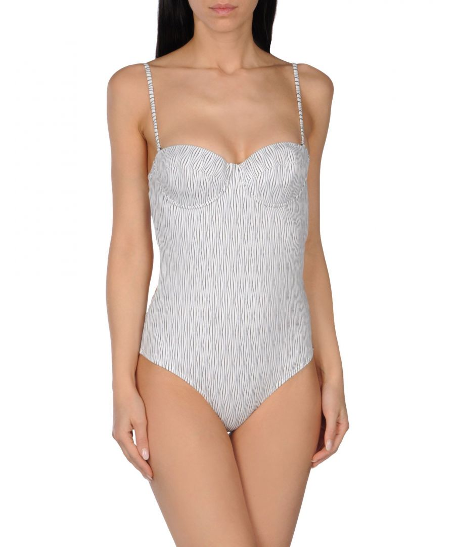 Image for Prism White Cupped Swimsuit