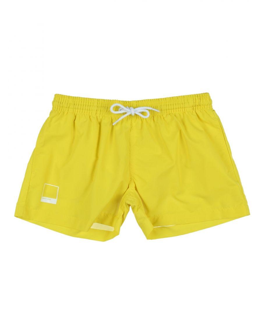 Image for SWIMWEAR Pantone Yellow Boy Polyamid