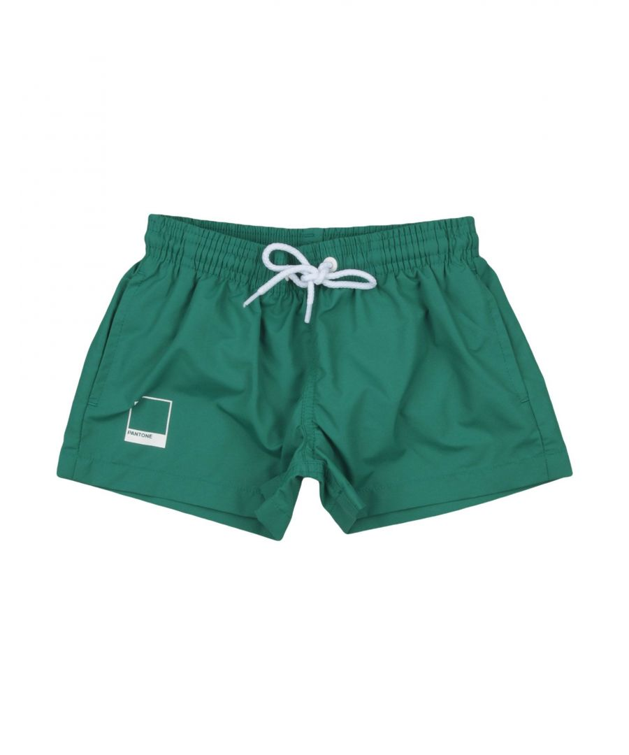 Image for SWIMWEAR Pantone Green Boy Polyamid