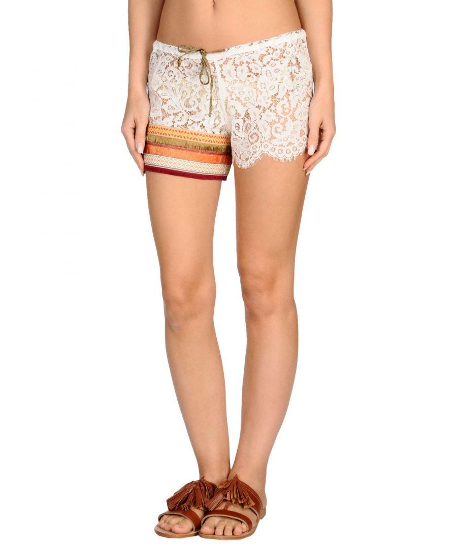 Image for Amorissimo White Lace Shorts