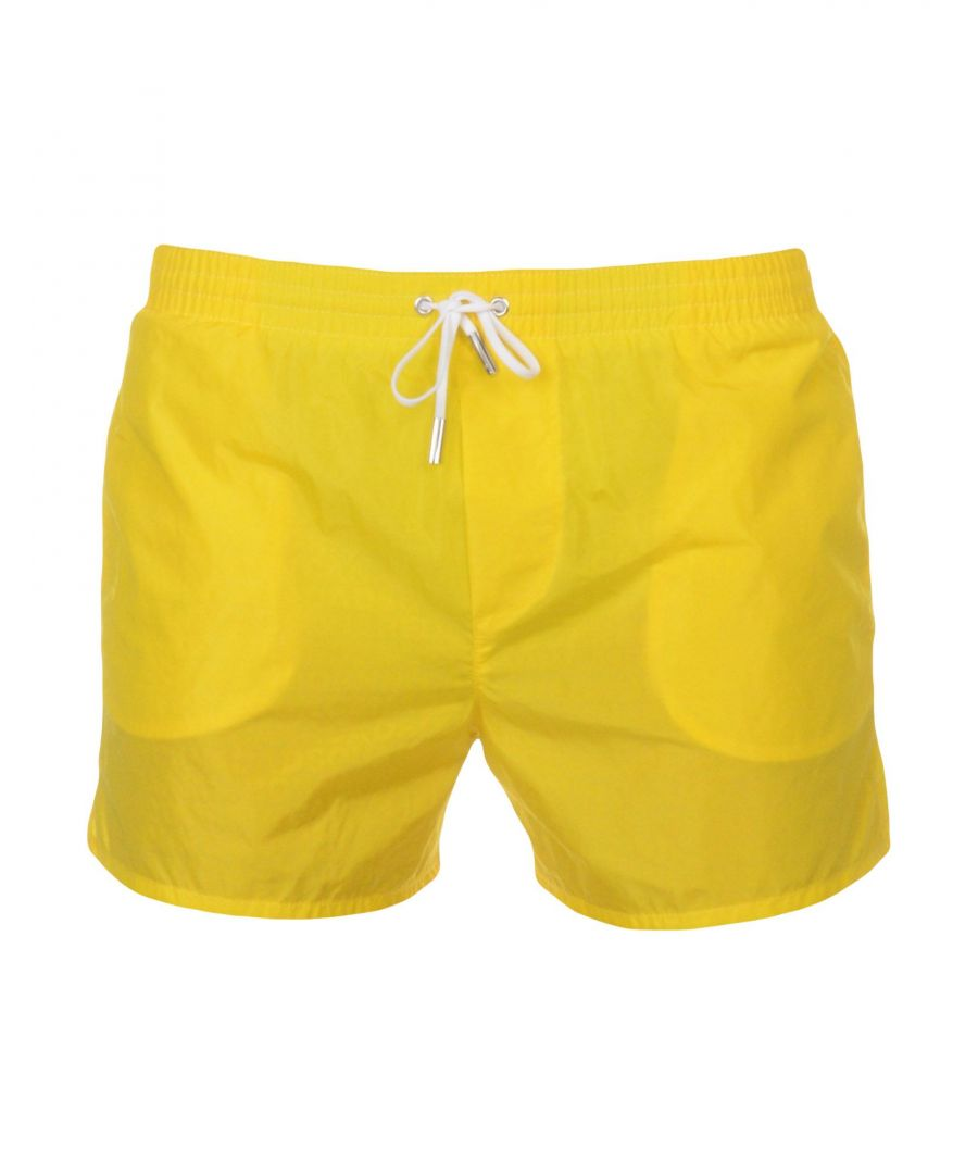 Image for Dsquared2 Yellow Swimming Trunks