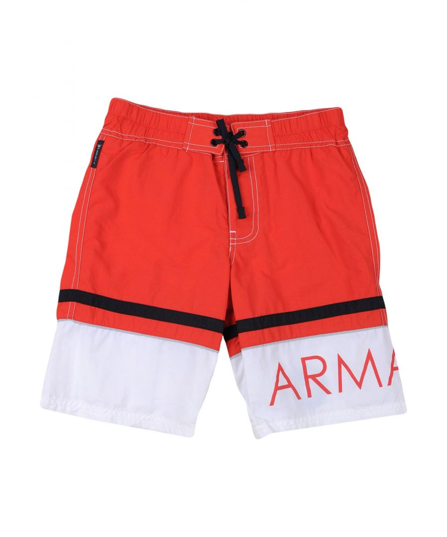 Image for SWIMWEAR Armani Junior Red Boy Polyamid