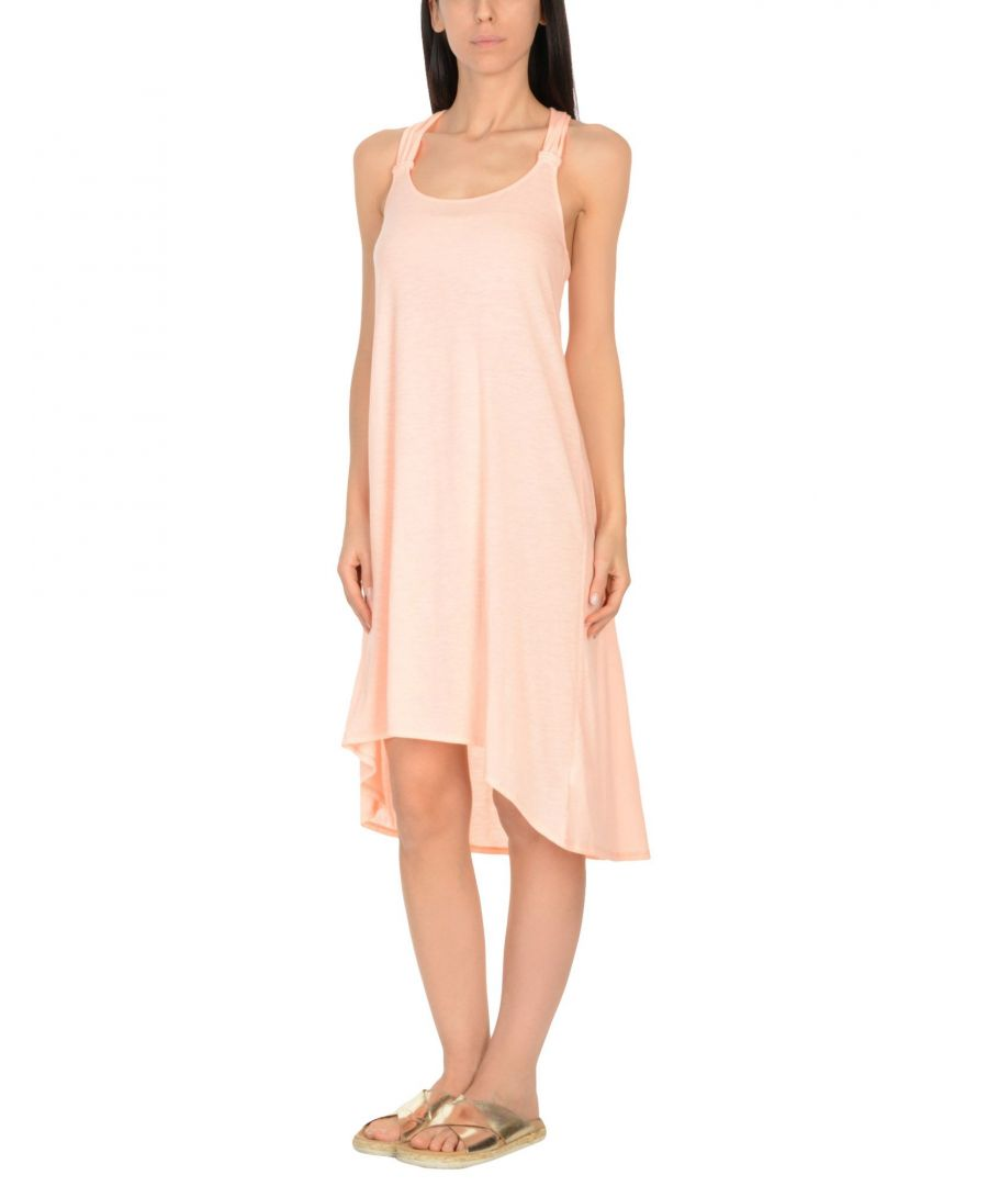 Image for Heidi Klein Salmon Pink Jersey Beach Dress