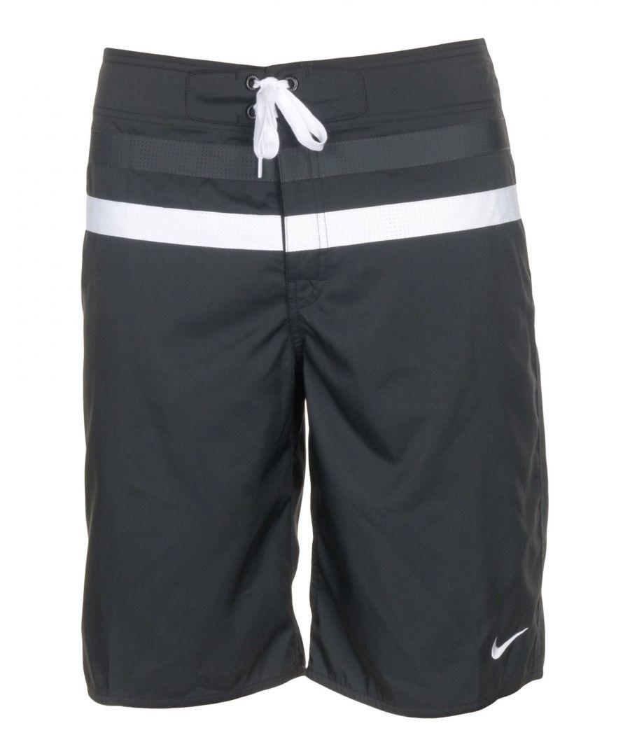 Image for Nike Black Swimming Trunks