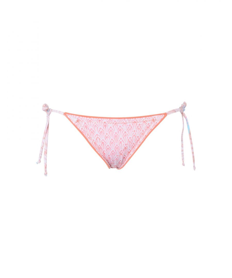 Image for Seaster Salmon Pink Tie Side Bikini Bottom