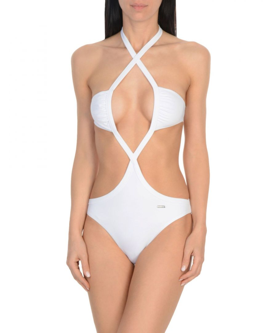 Image for Dsquared2 White Cut Out Swimsuit