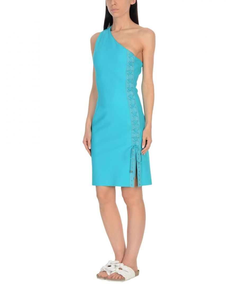 Image for Christies A Porter Turquoise One Shoulder Dress