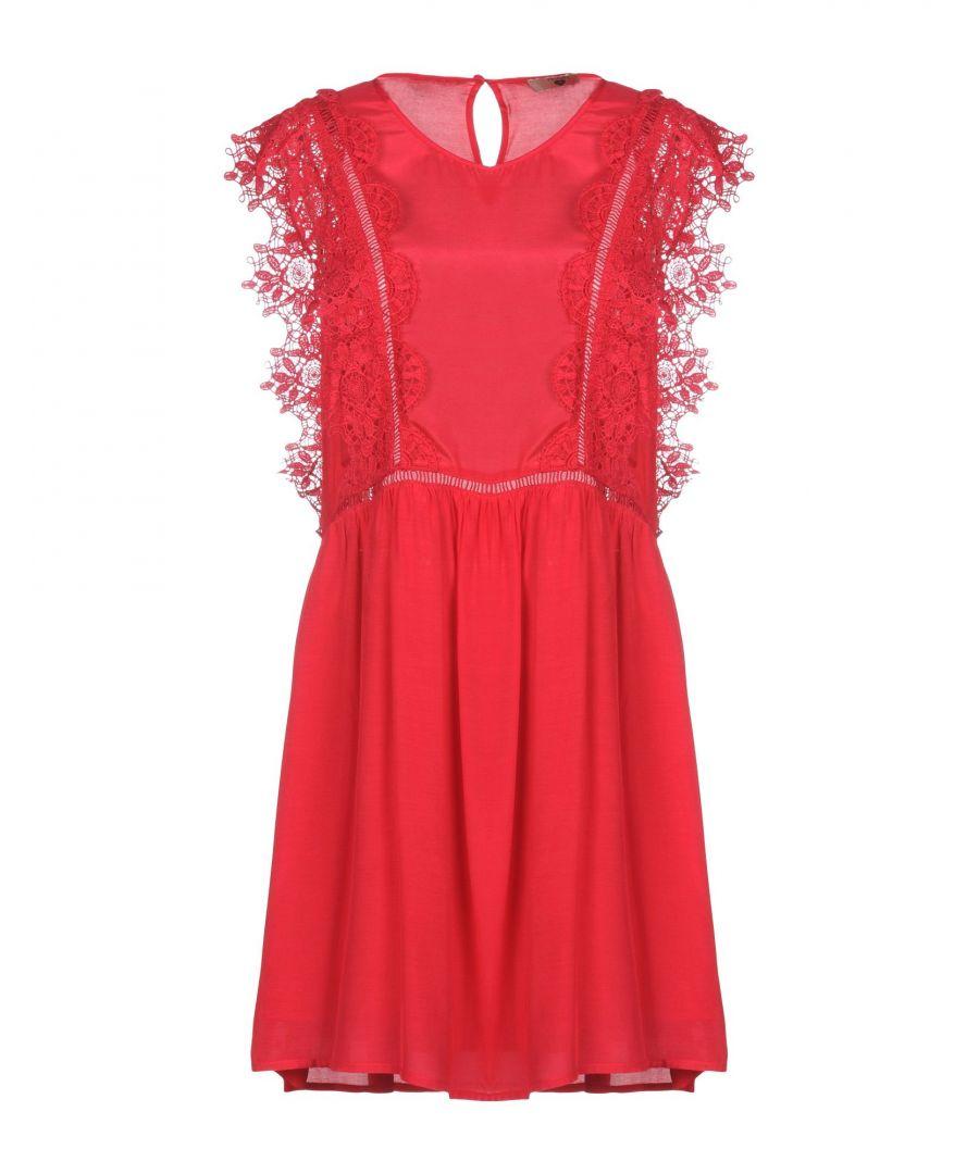 Image for Twinset Garnet Lace Short Dress