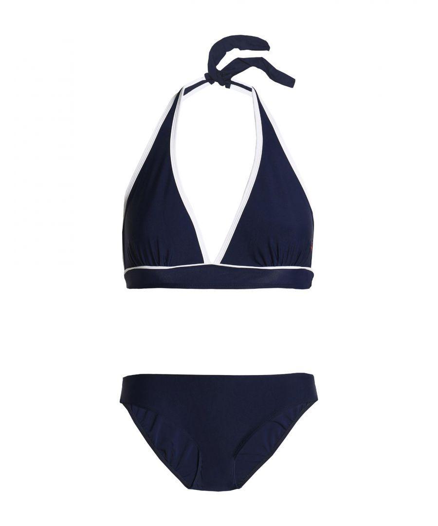 Image for Perfect Moment Dark Blue Halterneck Bikini Set