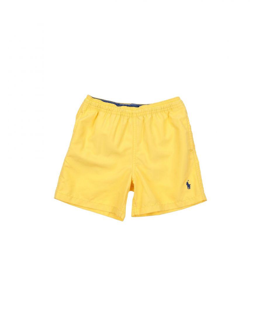 Image for SWIMWEAR Boy Ralph Lauren Yellow Polyester